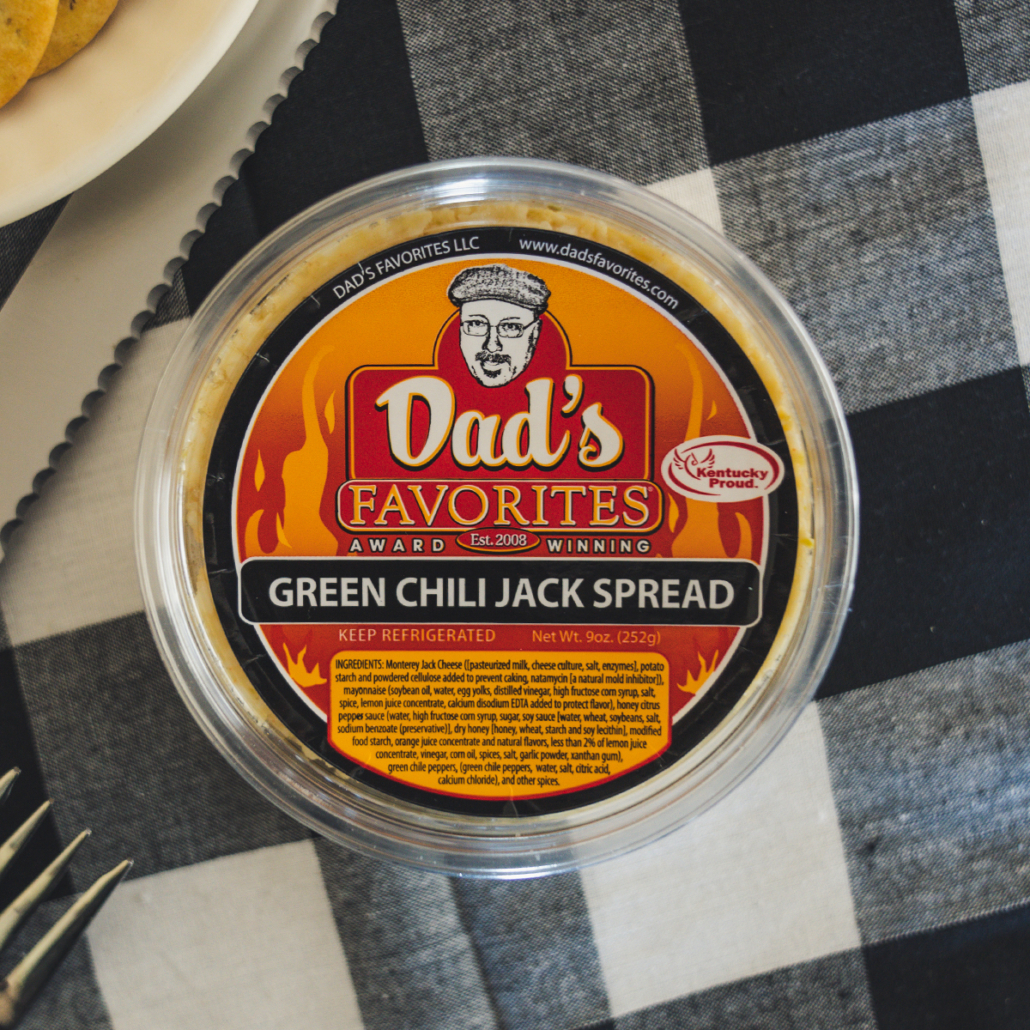 Green Chili Jack Spread